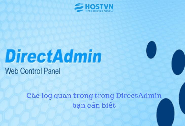 Các log quan trọng trong DirectAdmin bạn cần biết 1