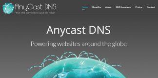 Dịch vụ Free DNS công nghệ DNS Anycast