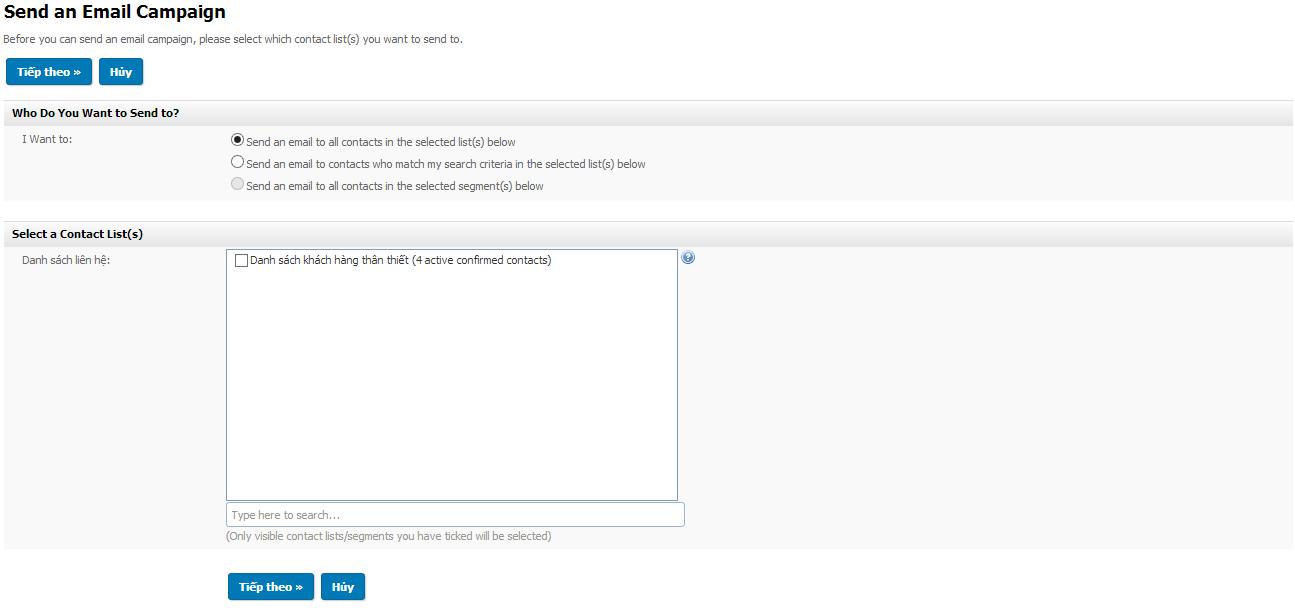 Hướng dẫn sử dụng Email Marketing