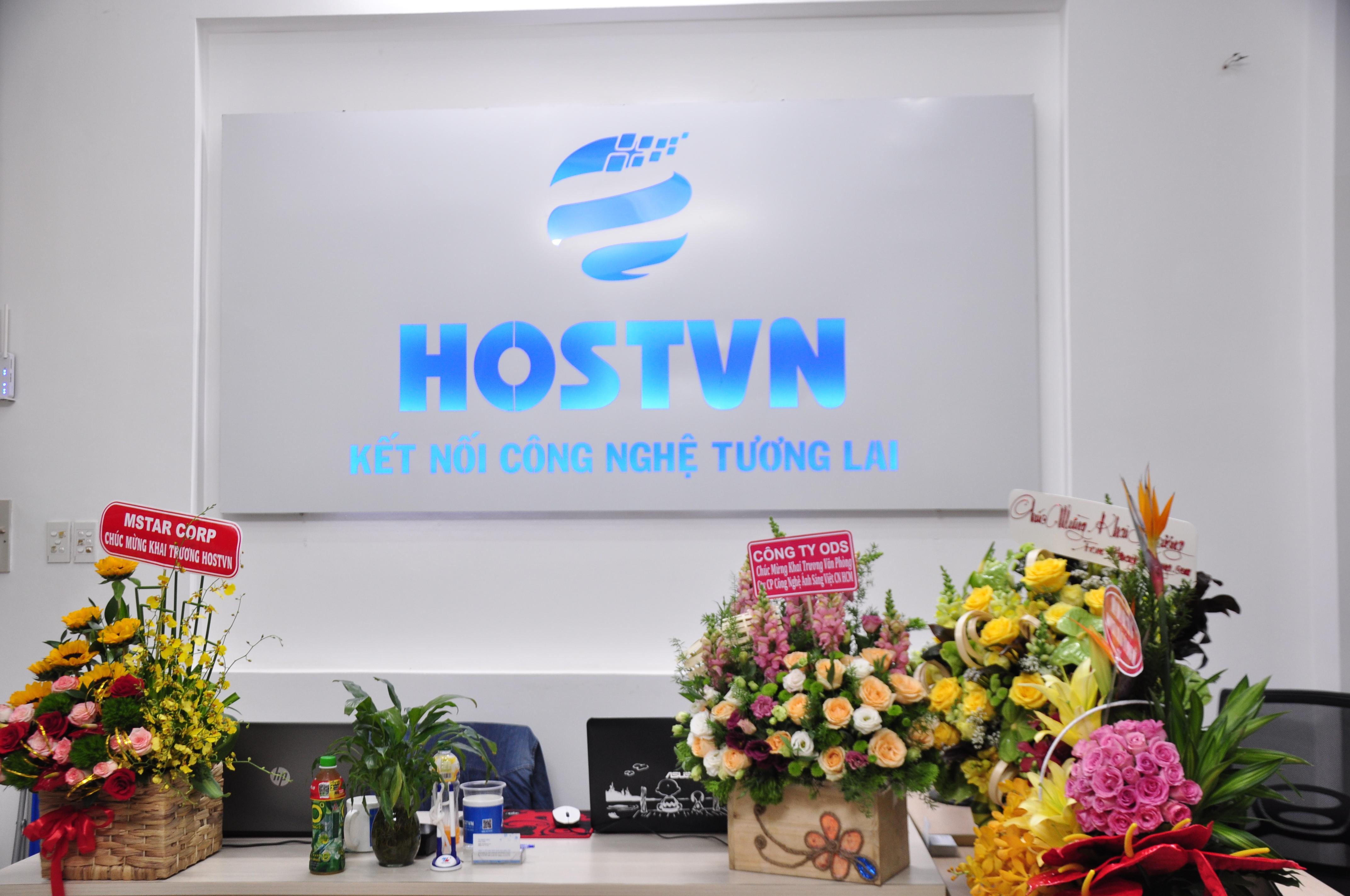 HOSTVN khai trương văn phòng tại TPHCM