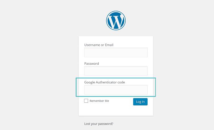 Xác thực qua mã code khi đăng nhập