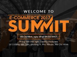 eCommerce Summit 2017 tại Hồ Chí Minh