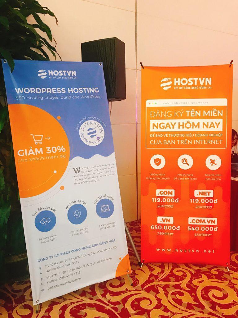 Các ưu đãi của HOSTVN dành riêng cho khách tham dự sự kiện