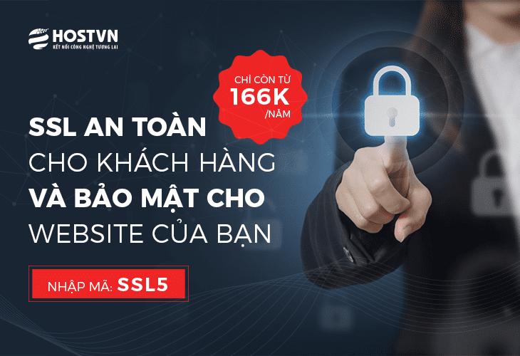 đăng ký SSL với giá chỉ từ 166k/năm