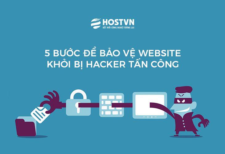 5 bước để bảo vệ website khỏi bị Hacker tấn công1