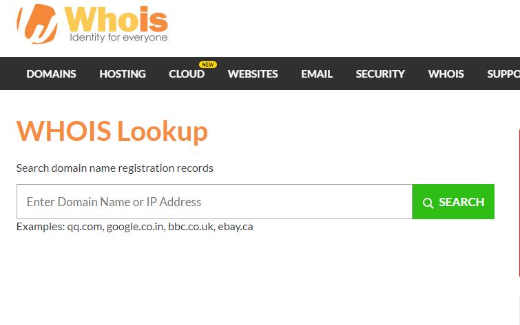 Làm sao để kiểm tra tên miền đã đăng ký chưa?