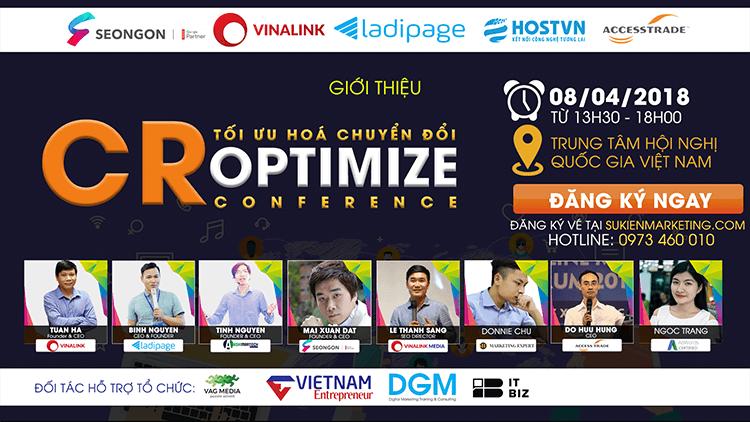 Hội nghị CR Optimize - Tối ưu hoá chuyển đổi