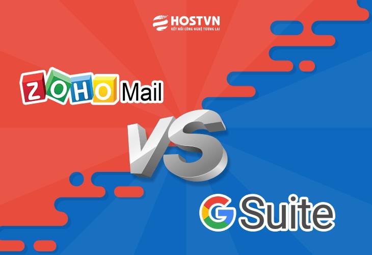 So sánh tính năng Google G Suite vs Zoho Mail cập nhật 20181