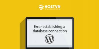 khắc phục cơ sở dữ liệu trong WordPress