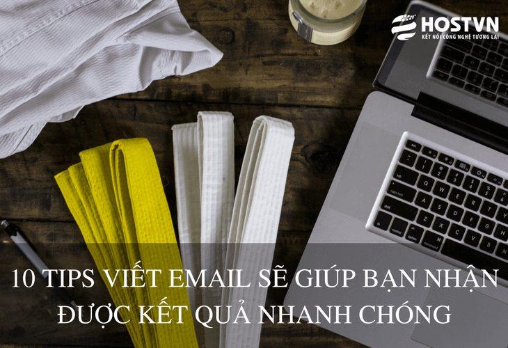 10 tip viết email hiệu quả