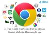 tiện ích mở rộng Google Chorme