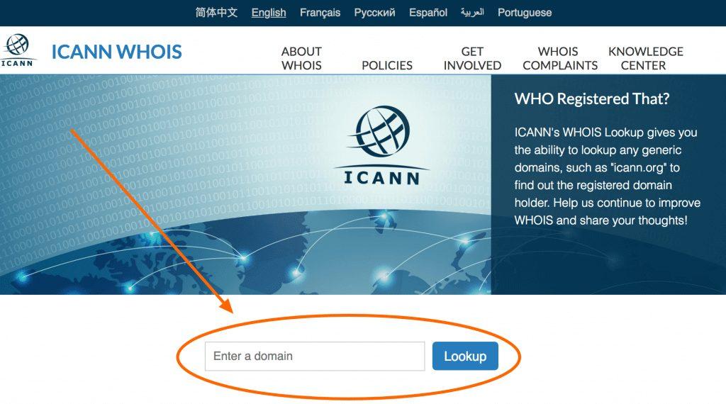 hướng dẫn tìm ra chủ sở hữu tên miền đã được đăng ký?
