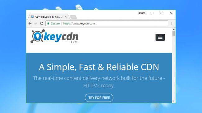 nhà cung cấp cdn KeyCDN