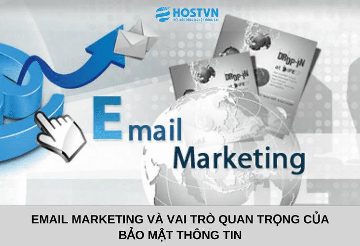 Email Marketing và vai trò quan trọng của bảo mật thông tin 1