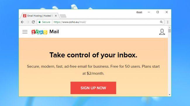 Top 5 nhà cung cấp dịch vụ email hosting TỐT NHẤT năm 2018 5