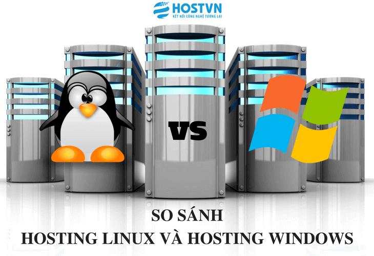 Hosting Windows và Hosting Linux