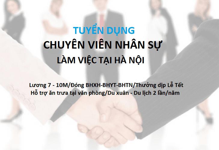 HOSTVN TUYỂN GẤP chuyên viên nhân sự làm việc tại Hà Nội 1