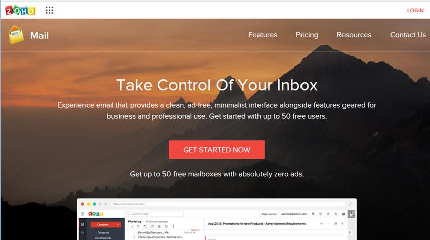 tạo email với tên miền riêng