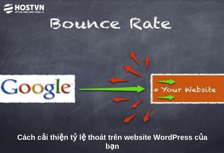 Cách cải thiện tỷ lệ thoát trên website WordPress của bạn 1