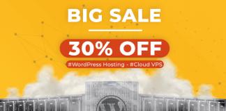 wordpress hosting ssd, cloud vps ssd giảm tới 30%