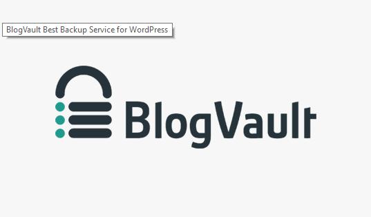 BlogVault - plugins backup cho wordpress