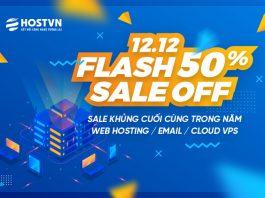 Giảm 50% dịch vụ Hosting, Email Business, Cloud VPS 1 ngày duy nhất 12/12