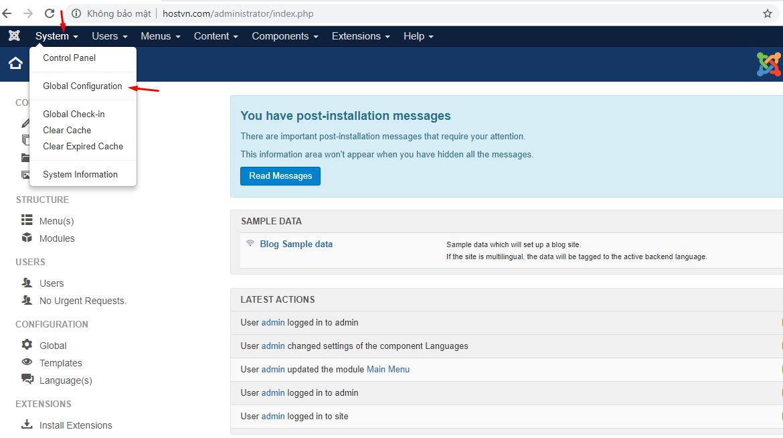 Cách chuyển website từ Joomla sang WordPress NHANH CHÓNG 3