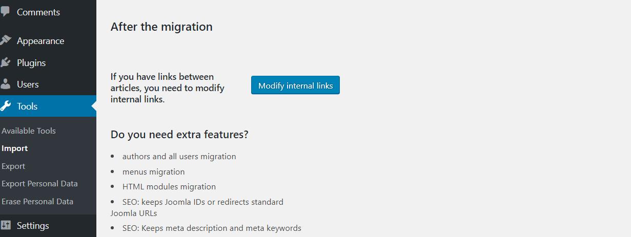 Cách chuyển website từ Joomla sang WordPress NHANH CHÓNG 10