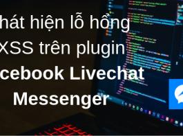 Facebook Livechat XSS Bug