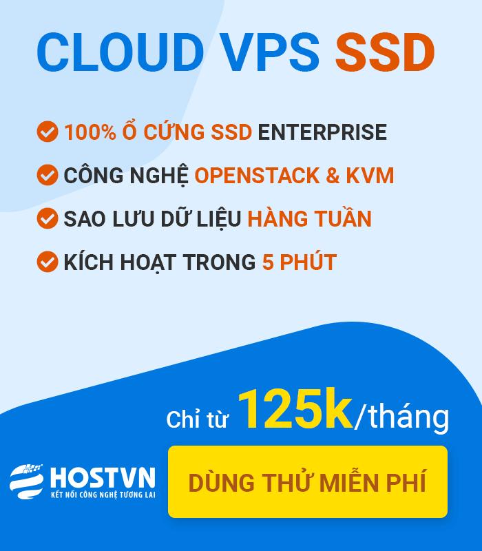 Dịch vụ Cloud VPS SSD