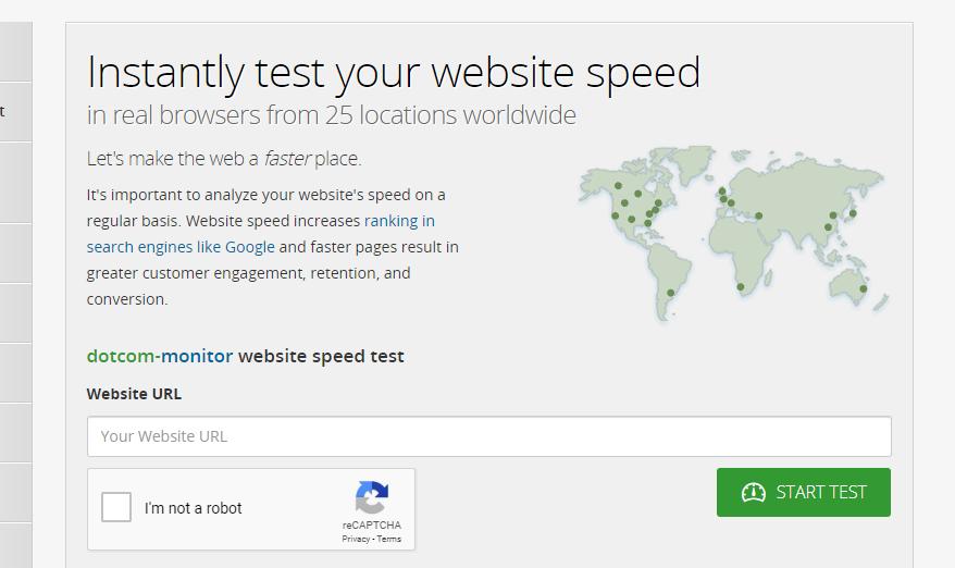 Dotcom-Tools.com - kiểm tra tốc độ website