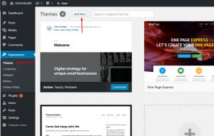 Screenshot_11 - cài đặt theme cho wordpress