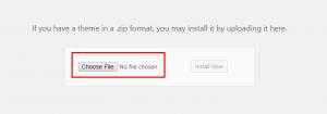 Screenshot_13 - cài đặt theme cho wordpress