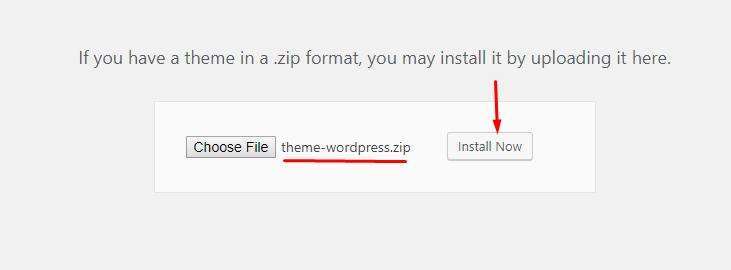 Screenshot_14 - cài đặt theme cho wordpress