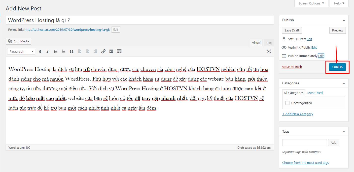 Screenshot_37 - tạo bài viết mới trên wordpress