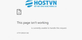 500 Internal Server Error Archives - HOSTVN Blog
