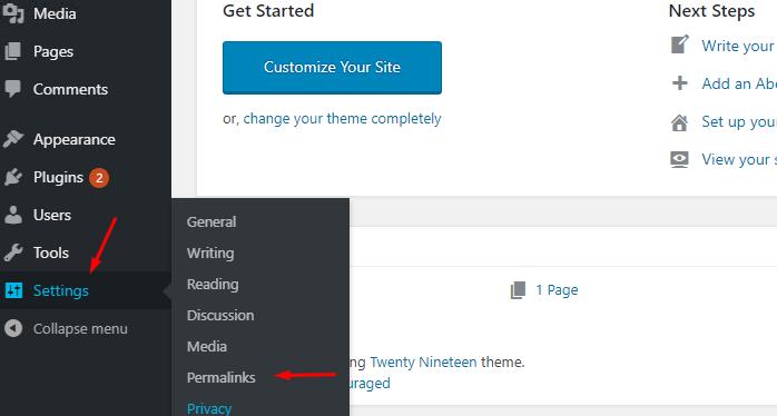 URL thân thiện cho wordpress