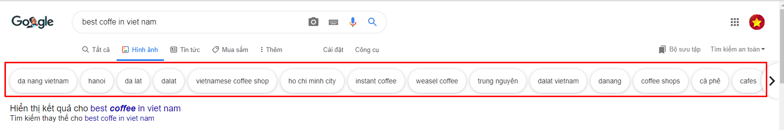 coffe search