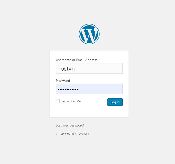 đổi mật khẩu admin wordpress