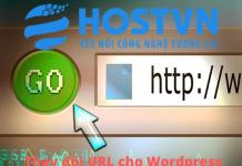 thay đổi url cho wordpress