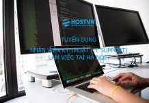 Tuyển dụng it support