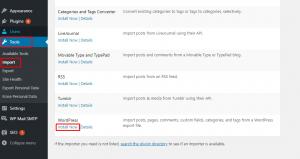 Import tools