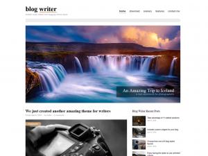 Blog_Writer - theme WordPress miễn phí
