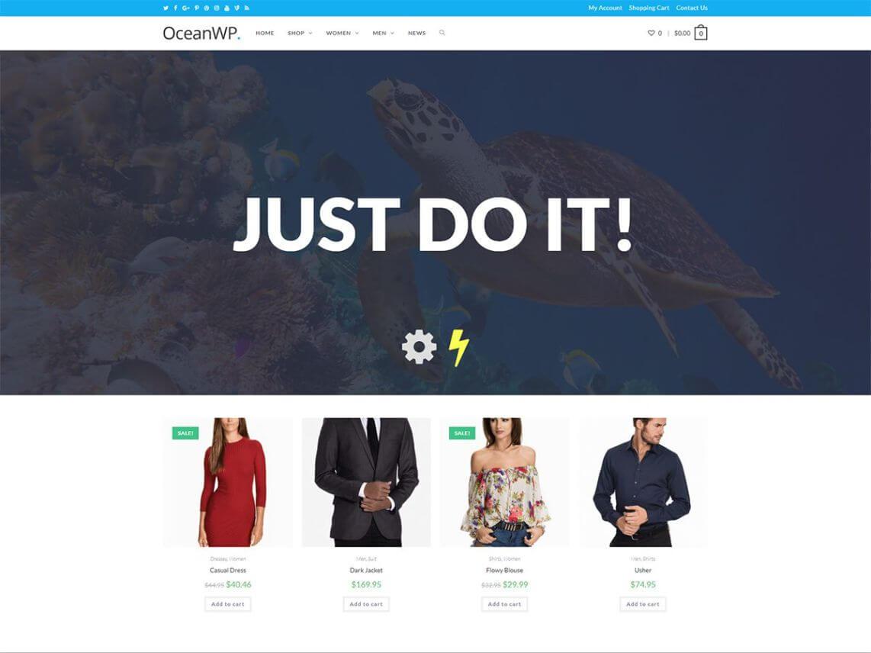 OceanWP - theme WordPress miễn phí