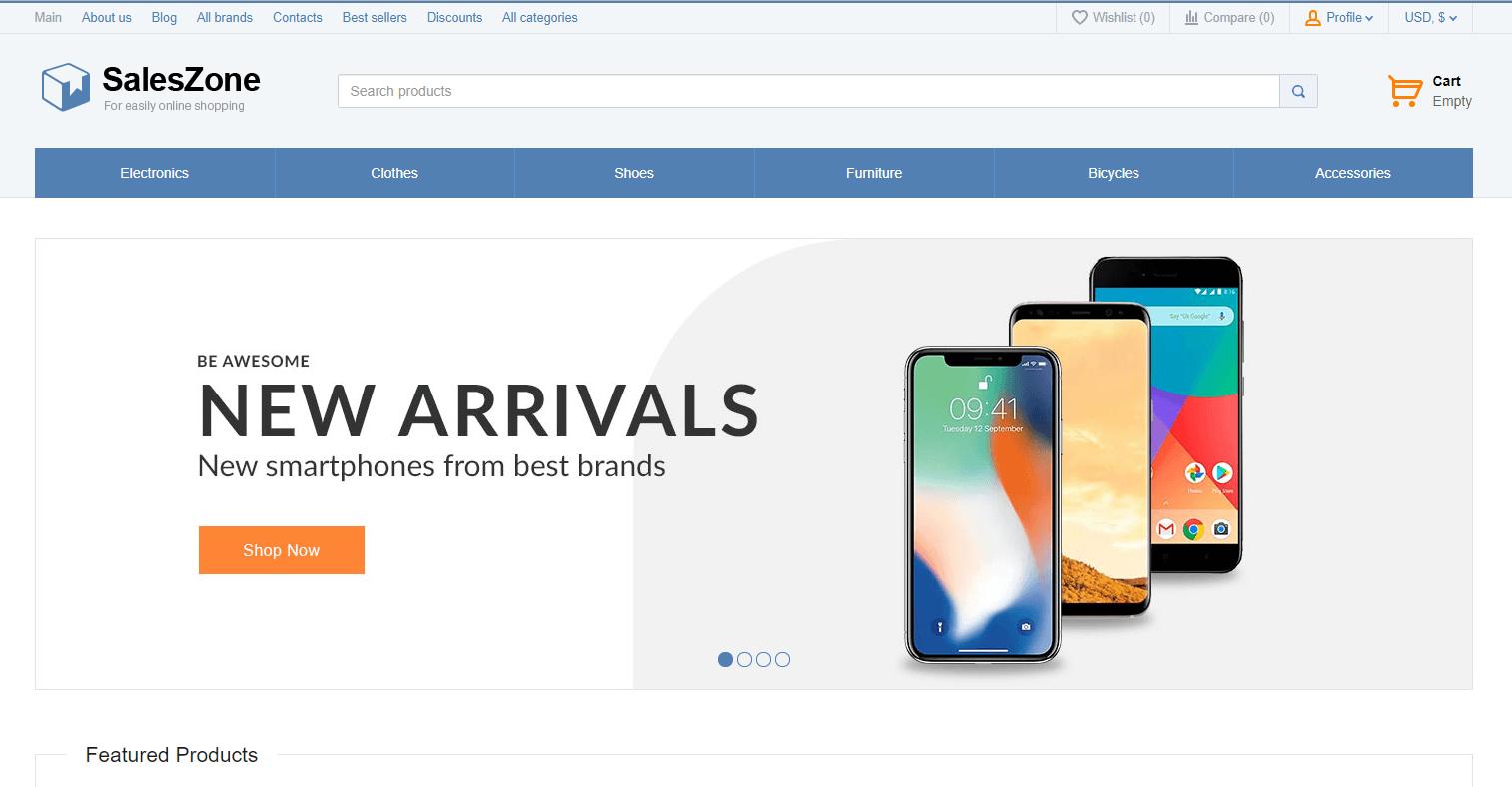 SalesZone - theme bán hàng wordpress