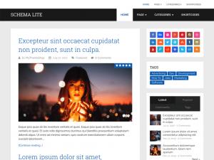 Schema_Lite - free WordPress theme