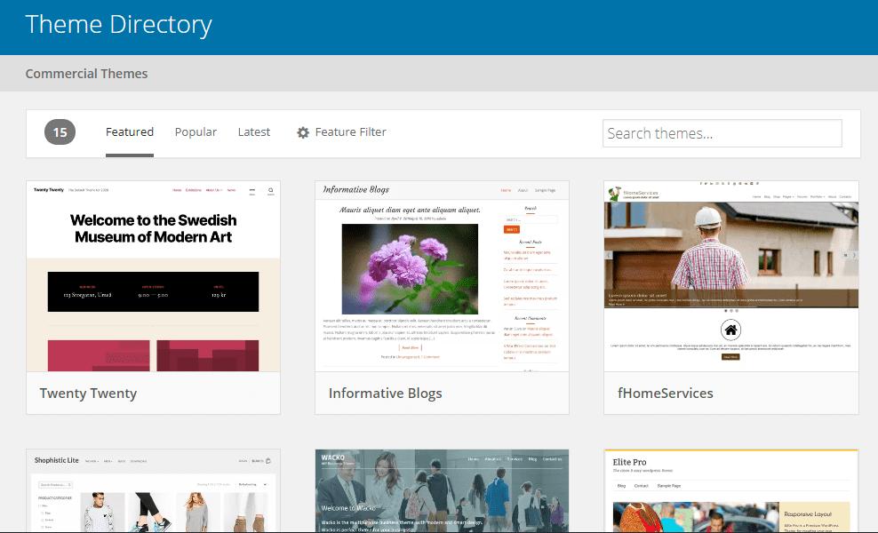 Tạo trang web wordpress