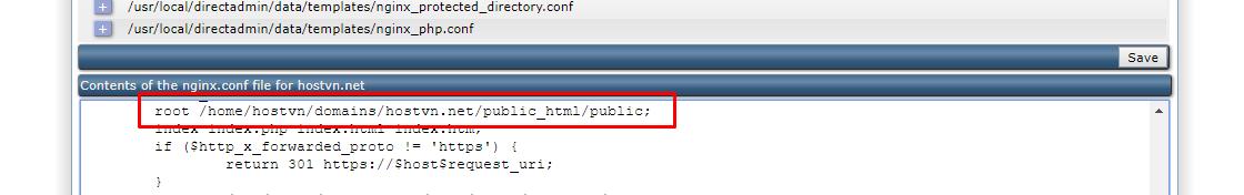nginx.conf file