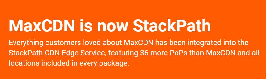 MaxCDN - tường lửa cho WordPress