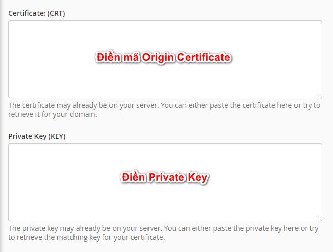 certificate - cài đặt SSL Cloudflare cho WordPress